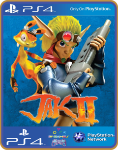 Ps4 Jak 2 Psn Original 1 Mídia Digital