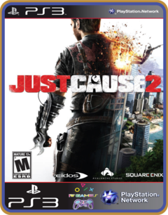 Ps3 Just Cause 2 |  Mídia Digital - comprar online