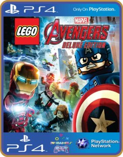 PS4 LEGO Marvels Avengers Deluxe Edition Psn Original 1 Mídia Digital