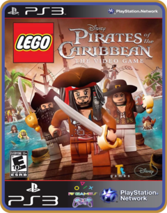 Ps3 Lego Pirates Of The Caribbean - Midia Digital