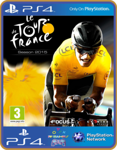 PS4 Tour de France 2015 Psn Original 1 Mídia Digital