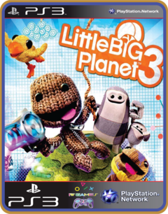 Ps3 Littlebigplanet 3   Psn Original Mídia Digital