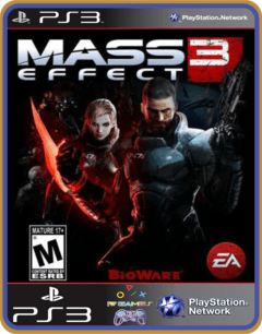 Ps3 Mass Effect 3 Mídia Digital Original Psn