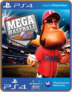 PS4 Super Mega Baseball Psn Original 1 Mídia Digital