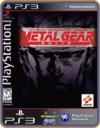 Ps3 Metal Gear Solid  Clássico - Mídia Digital Original - comprar online