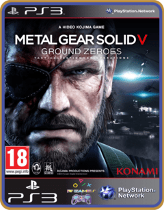 Ps3 Metal Gear Solid V Ground Zeroes - Mídia Digital