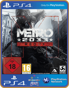 PS4 Metro 2033 Redux Psn Original 1 Mídia Digital
