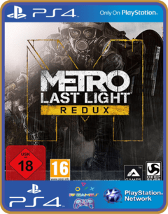 PS4 Metro Last Light Redux Psn Original 1 Mídia Digital