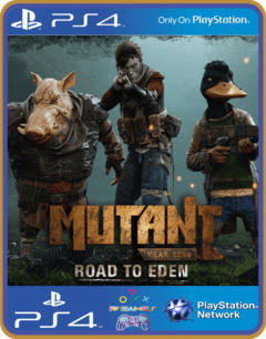 MUTANT YEAR ZERO ROAD TO EDEN PS4 MÍDIA DIGITAL ORIGINAL 1