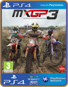 PS4 MXGP3 The Official Motocross Videogame Psn Original 1 Mídia Digital