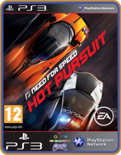 Ps3 Need For Speed Hot Pursuit - Original Mídia Digital - comprar online