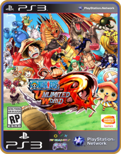 Ps3 One Piece Unlimited World Red  - Mídia Digital