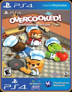 PS4 Overcooked Gourmet Edition PSN MÍDIA DIGITAL ORIGINAL 1