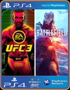 PS4 Pacote BATTLEFIELD V & EA SPORTS UFC 3 - PSN MIDIA DIGITAL ORIGINAL 1