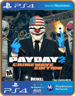 PS4 PAYDAY 2 CRIMEWAVE EDITION Psn Original 1 Mídia Digital