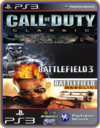 PS3 PACOTE IW 1 MÍDIA DIGITAL Call Of Duty Battlefield Hardline Battlefield 3