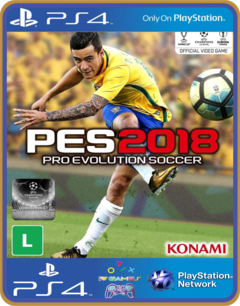 PS4 PES 2018 PSN 1 ORIGINAL MÍDIA DIGITAL