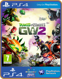 Ps4 Plants Vs Zombies Garden Warfare 2 Psn Original 1 Mídia