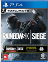 TOM CLANCYS RAINBOW SIX SIEGE MÍDIA FÍSICA PS4