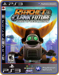 Ps3 Ratchet & Clank Future Tools Of Destruction | Midia - comprar online