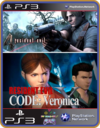 Ps3 Resident Evil Hd Bundle - Original Mídia Digital