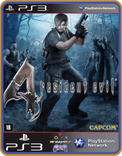 Ps3 Resident Evil 4 Mídia Digital