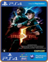 Ps4 Resident Evil 5 Psn Original 1 Mídia Digital