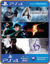 PS4 Resident Evil Triple Pack Psn Original 1 Mídia Digital