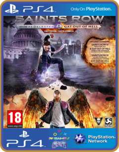Ps4 Saints Row 4 Re-elected / Saints Row Gat Out of Hell midia digital original 1