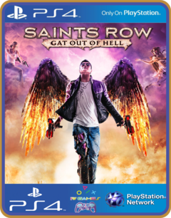 PS4 Saints Row Gat Out of Hell - MIDIA DIGITAL ORIGINAL 1