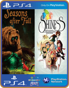 PS4 INDIE BUNDLE Shiness and Seasons after Fall Psn Original 1 Mídia Digital