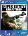 Ps4 Sniper Elite V2 Remastered midia digital