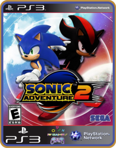 Ps3 Sonic Adventure 2 -  Mídia Digital