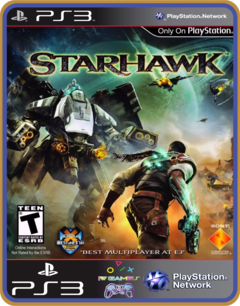 Ps3 Starhawk Ultimate Edition - Mídia Digital