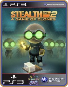 Ps3 Stealth Inc 2 A Game Of Clones | Original Mídia Digital