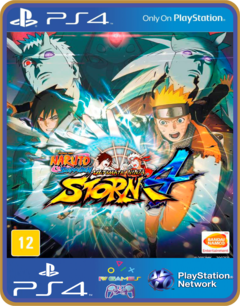 PS4 NARUTO SHIPPUDEN Ultimate Ninja STORM 4 Psn Original 1 Mídia Digital