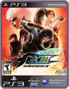 Ps3 The King Of Fighters 13 - Original Mídia Digital