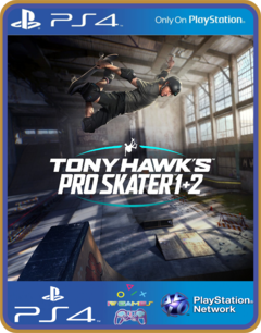PS4 Tony Hawk's Pro Skater 1 + 2  PSN ORIGINAL 1 MÍDIA DIGITAL
