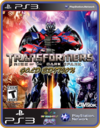 Ps3 Transformers Rise Of The Dark Spark Gold Edition