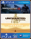 PS4 - 3 EM 1 - Uncharted 4 A Thief's End /UNCHARTED The Nathan Drake Collection / JOURNEY - PSN MIDIA DIGITAL ORIGINAL 1