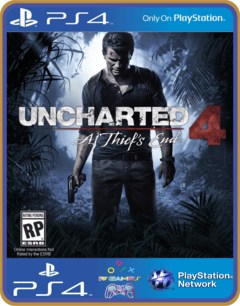 Ps4 Uncharted 4 A Thiefs End Psn Original 1 Mídia Digital