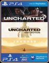 PS4 3 EM 1 - UNCHARTED The Lost Legacy / UNCHARTED The Nathan Drake Collection / JOURNEY - PSN MIDIA DIGITAL ORIGINAL 1