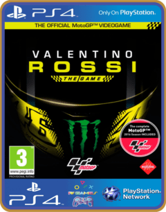 PS4 VALENTINO ROSSI THE GAME US Psn Original 1 Mídia Digital