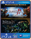WARHAMMER BUNDLE MORDHEIM AND BLOOD BOWL 2 PS4 MÍDIA DIGITAL