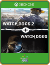 XBOX ONE PRIMÁRIA WATCH DOGS 1 E WATCH DOGS 2 STANDARD EDITIONS BUNDLE