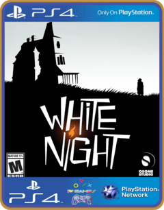 PS4 White Night Psn Original 1 Mídia Digital