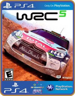 PS4 WRC 5 FIA World Rally Championship Psn Original 1 Mídia Digital