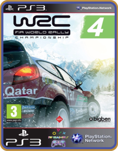 Ps3 Wrc 4 - Fia World Rally Championship | Mídia Digital - comprar online