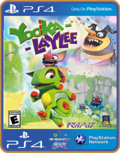 PS4  Yooka-Laylee - MIDIA DIGITAL ORIGINAL 1