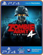 PS4 Zombie Army 4 Dead War PSN Original 1 Mídia Digital